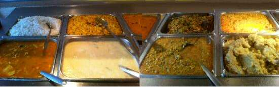 Indian Buffet Counter image © BayMasala.com