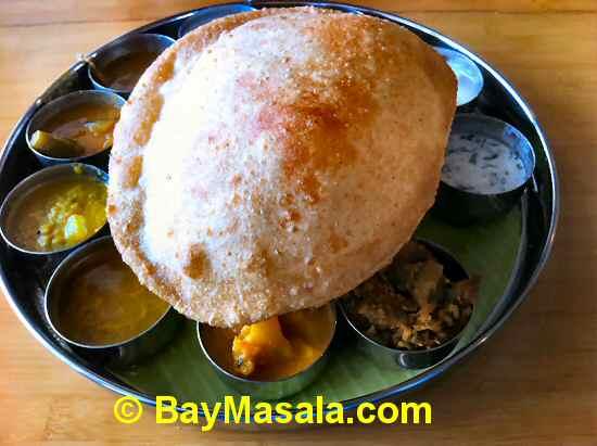 Vegetarian Thali image © BayMasala.com