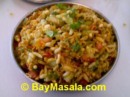 chaat bhavan hara bhara bhel  - Image © baymasala.com