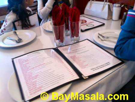 chaat bhavan table  - Image © baymasala.com