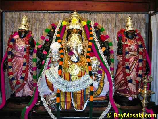 lakshmi ganapati hindu temple © baymasala.com