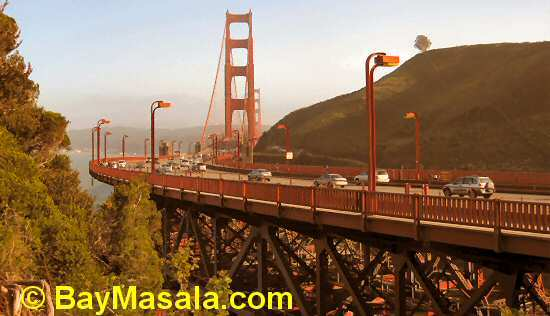 Golden Gate Bridge © BayMasala.com