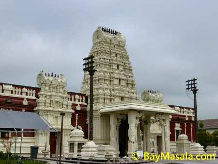 Livermore Siva Vishnu Temple Gopuram © BayMasala.com