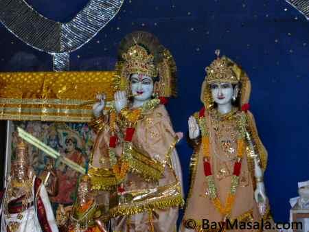 fremont hindu temple radha krishna