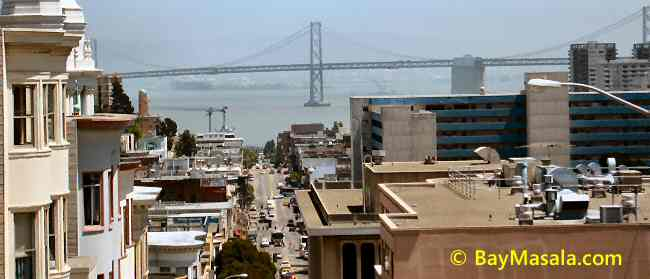 San Francisco Golden Gate Bridge View © BayMasala.com