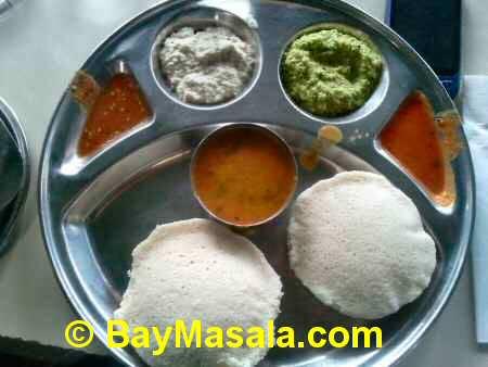 saravanaa bhavan idly   - Image © BayMasala.com
