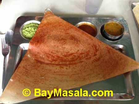 saravanaa bhavan mysore masala dosa   - Image © BayMasala.com