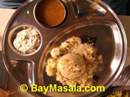 saravanaa bhavan pongal   - Image © BayMasala.com