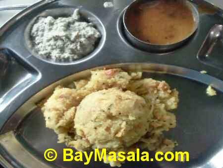 saravanaa bhavan rava kichidi   - Image © BayMasala.com