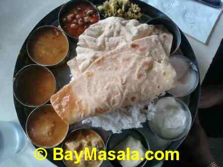 saravanaa bhavan special meals   - Image © BayMasala.com