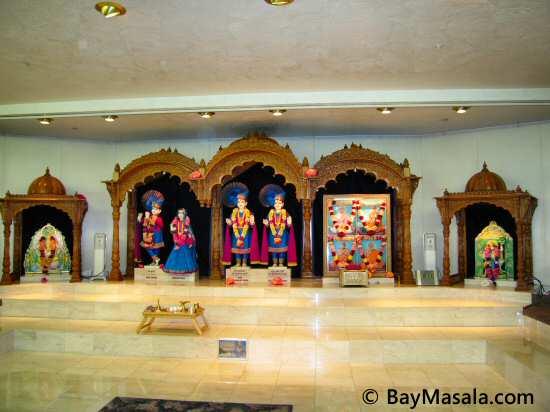 Swaminarayan temple milpitas © BayMasala.com
