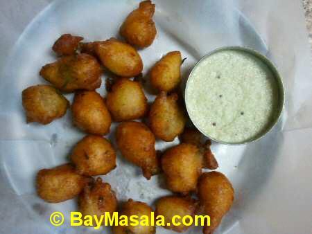 tirupathi bhimas milipitas andhra punugulu - Image © BayMasala.com