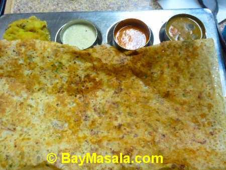 tirupathi bhimas milipitas onion rava masala - Image © BayMasala.com